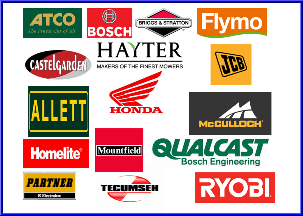 image of lawnmower brands
